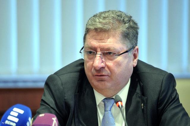 Parragh László, a Magyar Kereskedelmi és Iparkamara (MKIK) elnöke Fotó: Kovács Attila / MTI