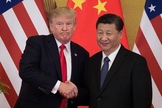 Donald Trump amerikai- és Hszi Csinping kínai elnök. (Fotó: AFP/Getty)