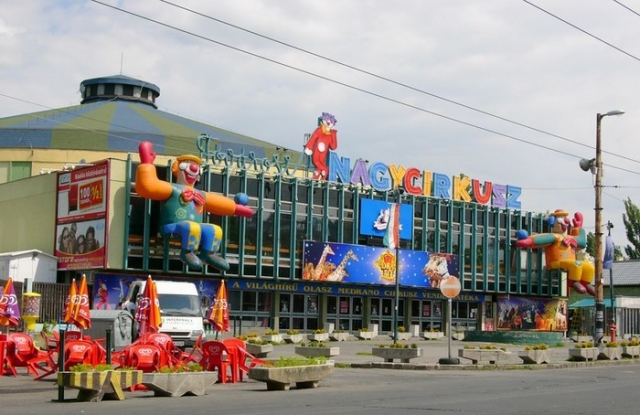 A Fővárosi Nagycirkusz. Forrás: wikipedia