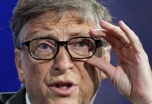 Bill Gates. Kép forrása: EPA