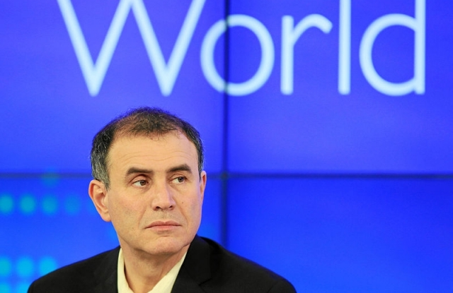 Nouriel Roubini a 2012-es Világgazdasági Fórumon, Davosban. Fotó: Sebastian Derungs / World Economic Forum