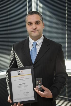 Molnár Miklós, az AntaresNav Kft. ügyvezető igazgatója