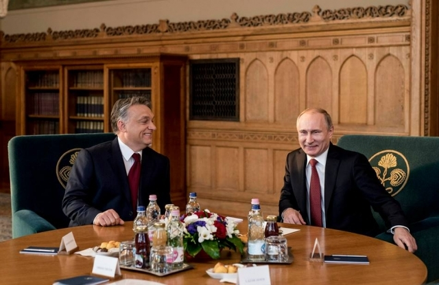 Putyin Orbánnál Budapesten