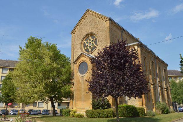 Zsinagóga a franciországi Sedanban