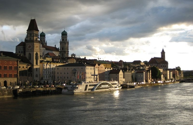 Passau, Németország (fotó: Wikimedia Commons)