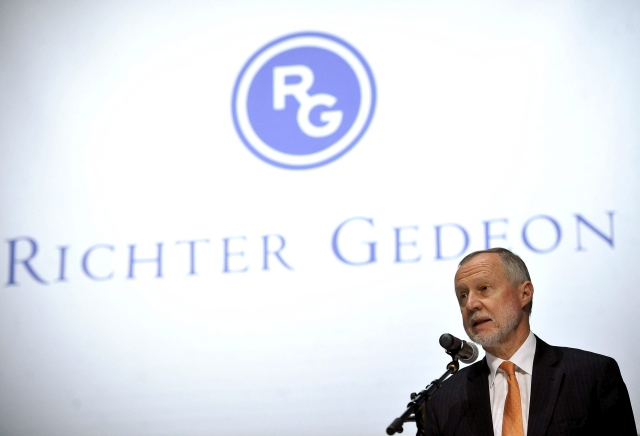 Bogsch Erik egy korábbi Richter-közgyűlésen. MTI Fotó  Bruzák Noémi 4eb50ee391