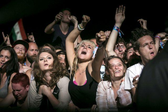 Korn koncert a 2014-es Szigeten. MTI Fotó: Mohai Balázs