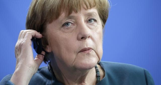 Angela Merkel német kancellár. (Kép forrása: MTI/AP/Michael Sohn)