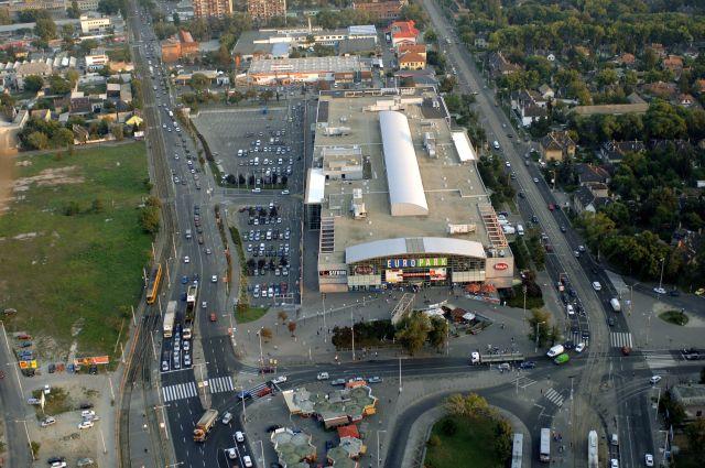A kispesti Europark bevásárlóközpont.MTI Fotó: H. Szabó Sándor
