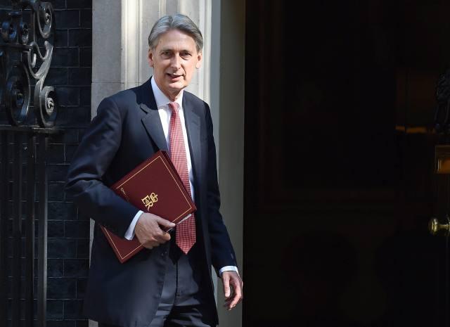 Philip Hammond pénzügyminiszter. (Kép forrása: MTI/EPA/Andy Rain)