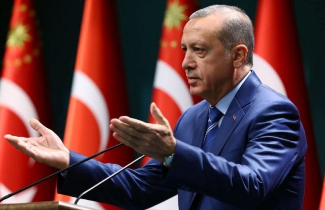 Erdogan török elnök