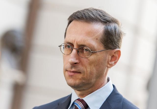 Varga Mihly  nemzetgazdasági miniszter. MTI Fotó: Krizsán Csaba