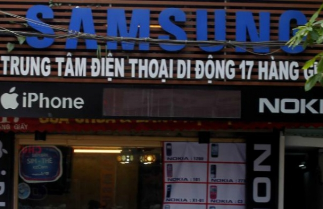 Minden 3. Samsung telefon Vietnamban készül