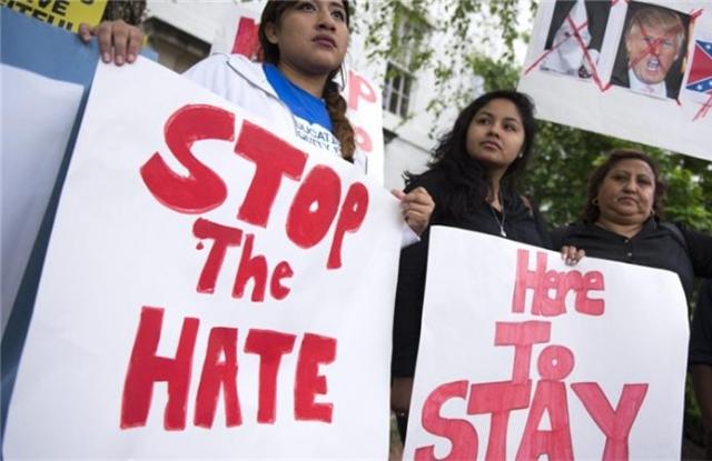 Fellázadtak a bevándorlók Trump ellen