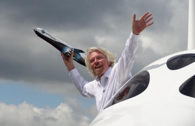 Richard Branson. Forrás: flickr.com