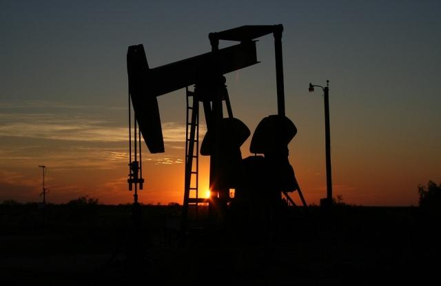 Texasi olajkút (fotó: Pixabay)