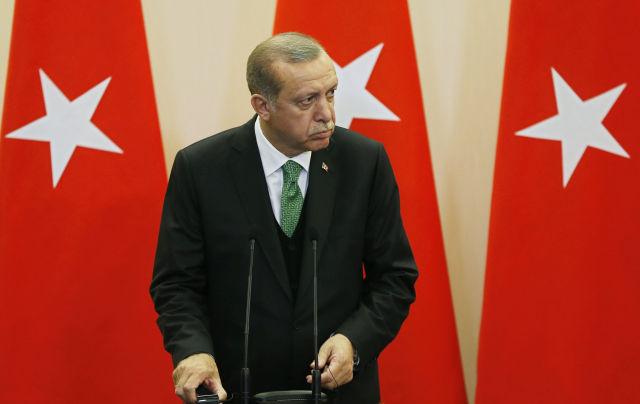 Recep Tayyip Erdogan (Kép forrása: EPA/YURI KOCHETKOV)