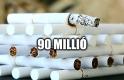 A Nap Száma: ennyi cigarettát még sosem fogtak ellenőrök