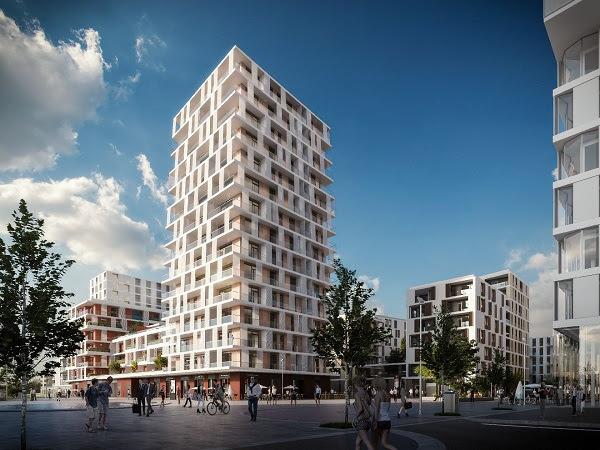 A BudaPark látványtervei. Forrás: Property Market Kft.
