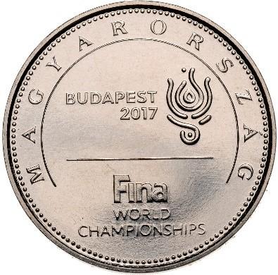 A hátoldala az új érmének (Forrás: MNB)