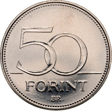Az új 50 forintos eleje marad a régi (Forrás: MNB)
