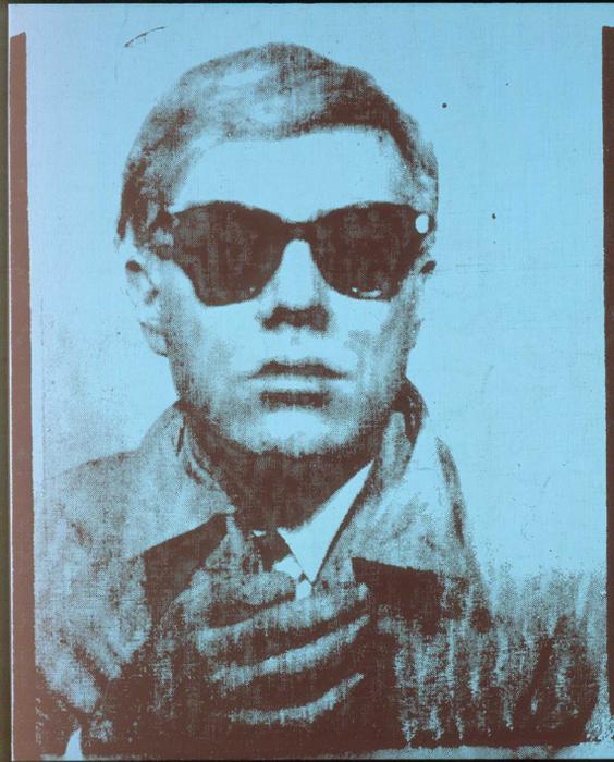 Andy Warhol: Önarckép (1963) Forrás: Kunsthaus Graz