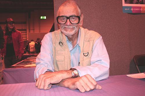 George A. Romero, a zombifilmek atyja. Forrás: Wikimedia Commons