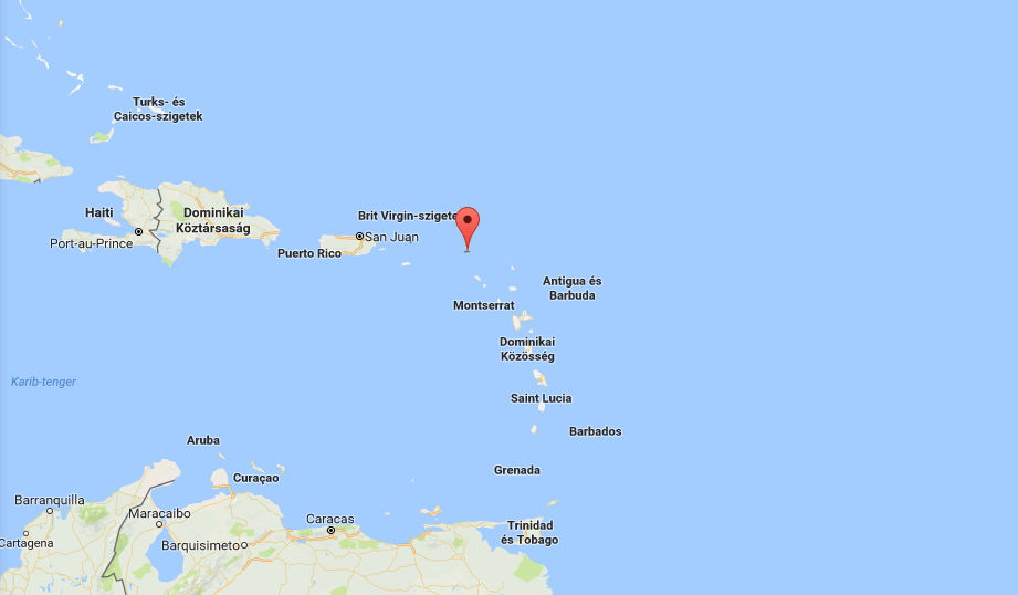 Saint Martin (Forrás: Google Maps)