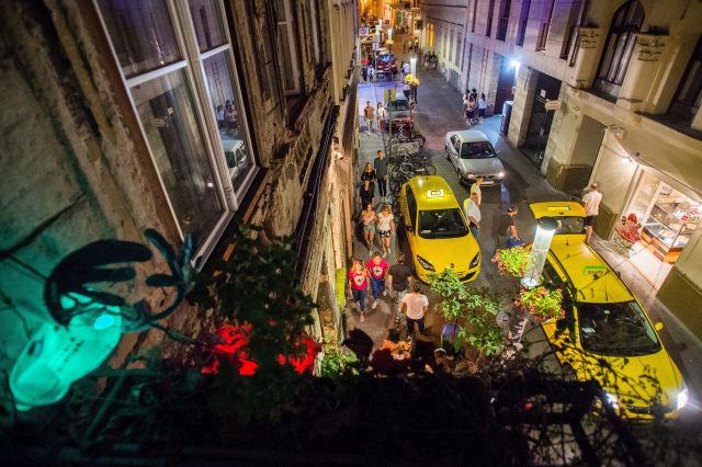 A Kazinczy utca (Kép forrása: MTI Fotó, Balogh Zoltán)