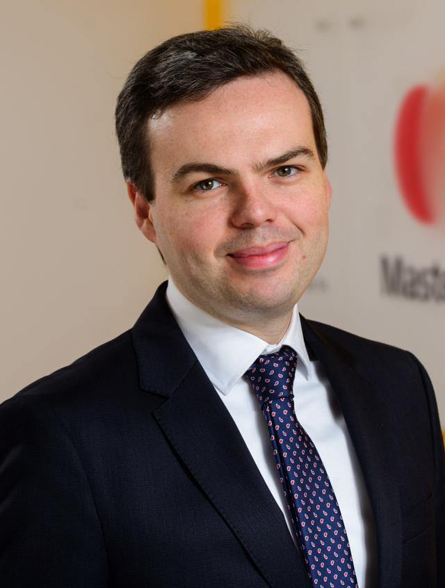 Maklári István, a Mastercard Advisors regionális tanácsadó csapatának vezetője.