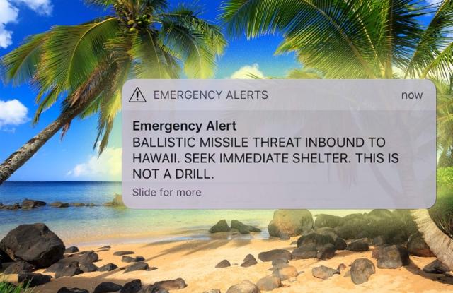 Mit tegyünk, ha SMS-ben atomtámadásra figyelmeztetnek?