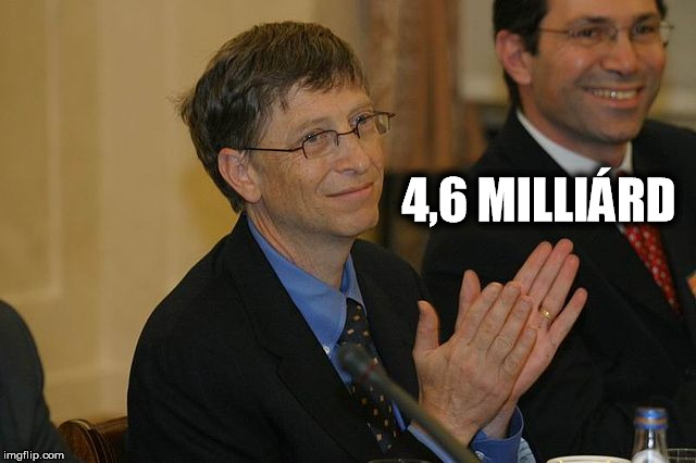 Bill Gates Forrás: Wikimedia Commons