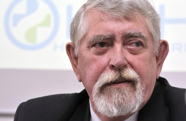 Kásler Miklós, az Országos Onkológiai Intézet főigazgatója 2018. április 5-én. MTI Fotó: Kovács Attila