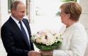 Gázos ügyekről beszélt Merkel és Putyin