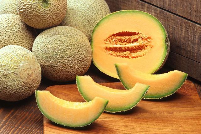 A kantalup (cantaloupe) típusú sárgadinnye