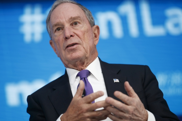 Michael Bloomberg Fotó: EPA/Shawn Thew