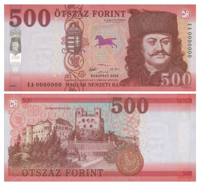 Az új 500 forintos bankjegy 8 (Fotó:MNB)