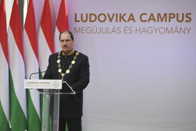 Patyi András (MTI Fotó: Koszticsák Szilárd)