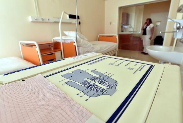 A MH Honvédkórház I. Fázisú Klinikai Farmakológiai Laboratóriumának egyik kezelőszobája (MTI Fotó: Máthé Zoltán)