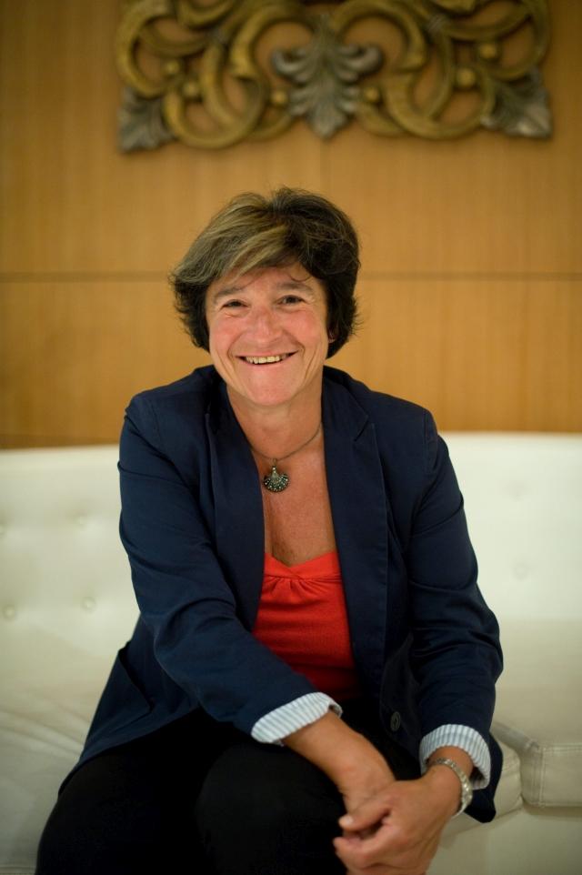 Király Júlia, az MNB korábbi alelnöke. MTI Fotó: Kollányi Péter