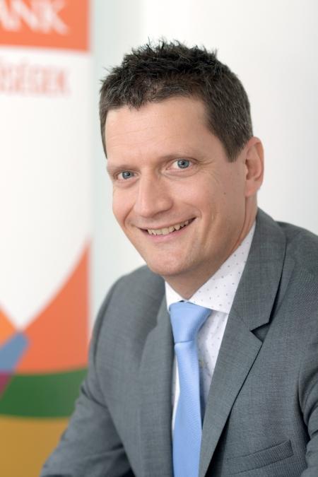 Szabó Balázs, a CIB vezérigazgató-helyettese