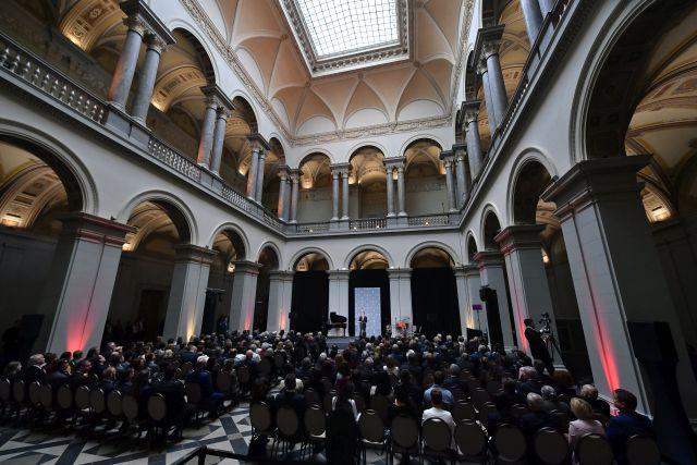 A Szépművészeti Múzeum nyitóünnepsége (MTI/Szigetváry Zsolt)