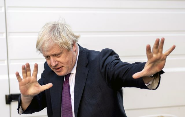 Former British Foreign Secretary Boris Johnson in Central London, Britain, 09 October 2018. EPA/WILL OLIVER