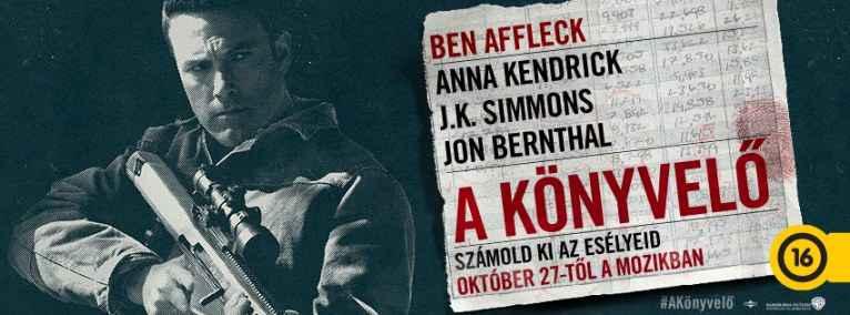 Egy lehetséges karrier-alternatíva - Ben Affleck A könyvelő című film plakátján