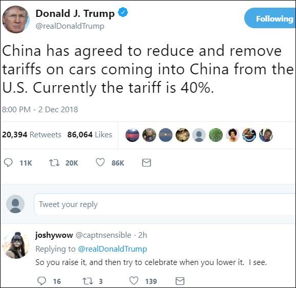 Trump Twitter-oldala