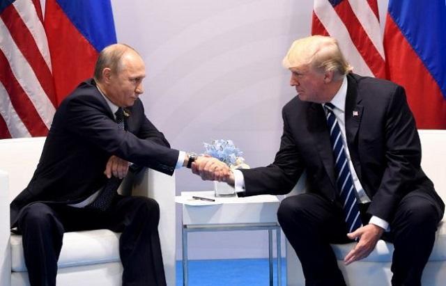 Vlagyimir Putyin és Donald Trump. (Illusztráció, AFP)