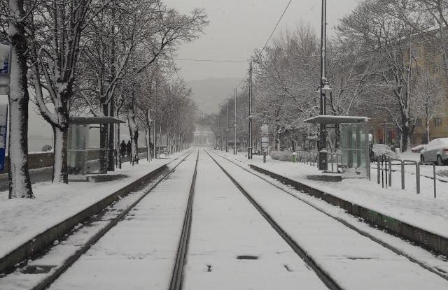 A Clark Ádám tér 2018. december 15-én (Fotó: Privátbankár.hu/Valkai Nikoletta)