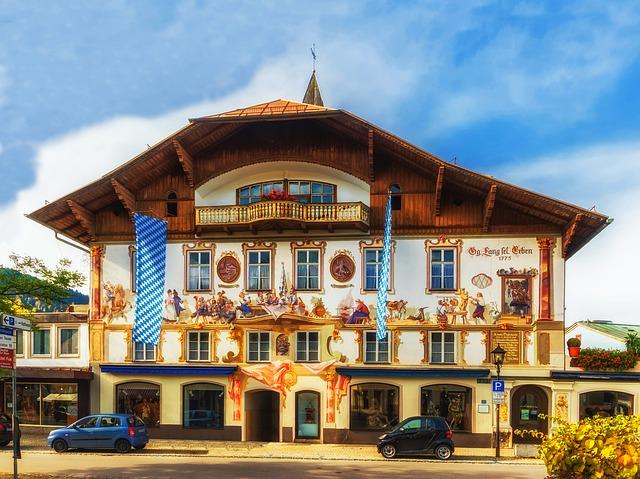 Németország, Oberammergau (Fotó: Pixabay)