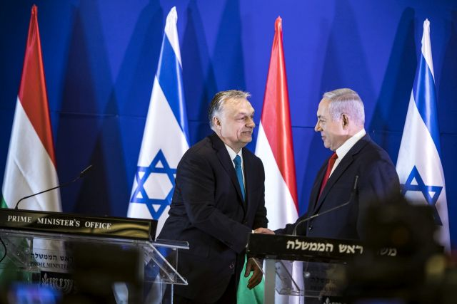 Orbán Viktor Izraelben: a kényes témákat kerüli a kormány