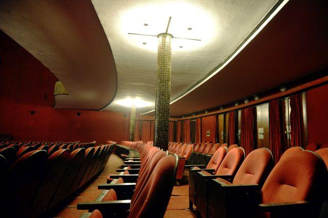 Az Átrium Film-Színház nézőtere (Fotó: MTI Fotó: Beliczay László)